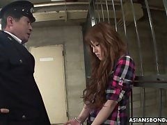 Legendary and professional Asian blowjob hard by arrested prostitute Ria Sakurai