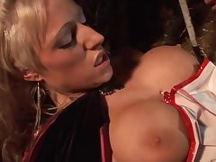 Huge titted babes bouncing beyond cocks